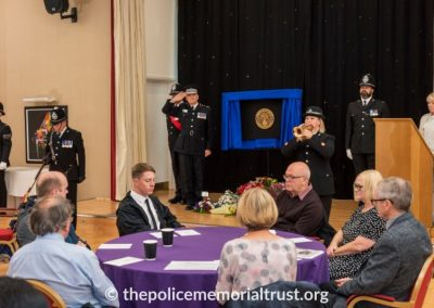 PC George Snipe Memorial Unveiling Ceremony 21