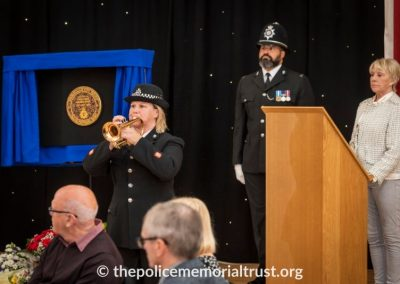 PC George Snipe Memorial Unveiling Ceremony 22