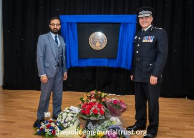 PC George Snipe Memorial Unveiling Ceremony 24