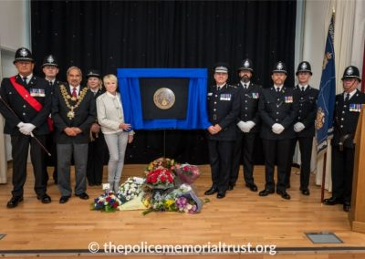 PC George Snipe Memorial Unveiling Ceremony 25