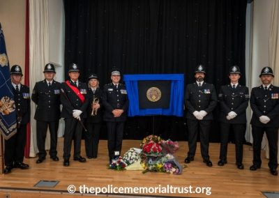 PC George Snipe Memorial Unveiling Ceremony 26