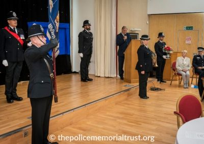 PC George Snipe Memorial Unveiling Ceremony 6