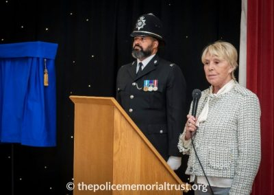 PC George Snipe Memorial Unveiling Ceremony 8