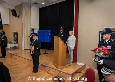 PC George Snipe Memorial Unveiling Ceremony 9