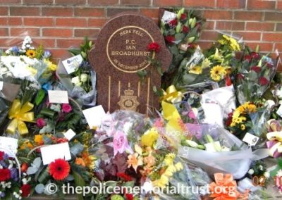 PC Ian Broadhurst Memorial 1