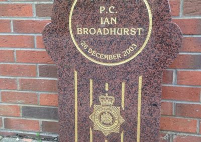 PC Ian Broadhurst Memorial 2