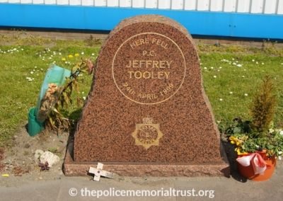 PC Jeffrey Tooley Memorial