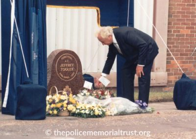 PC Jeffrey Tooley Unveiling Photos 5
