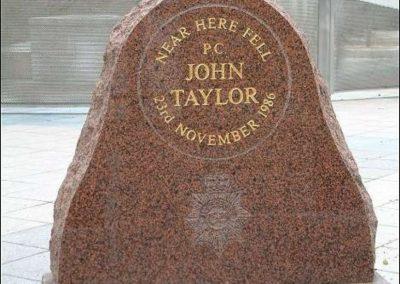 PC John Taylor Memorial 1