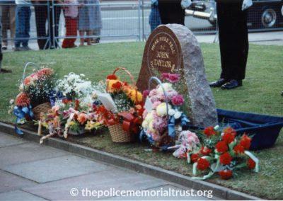 PC John Taylor Memorial 2
