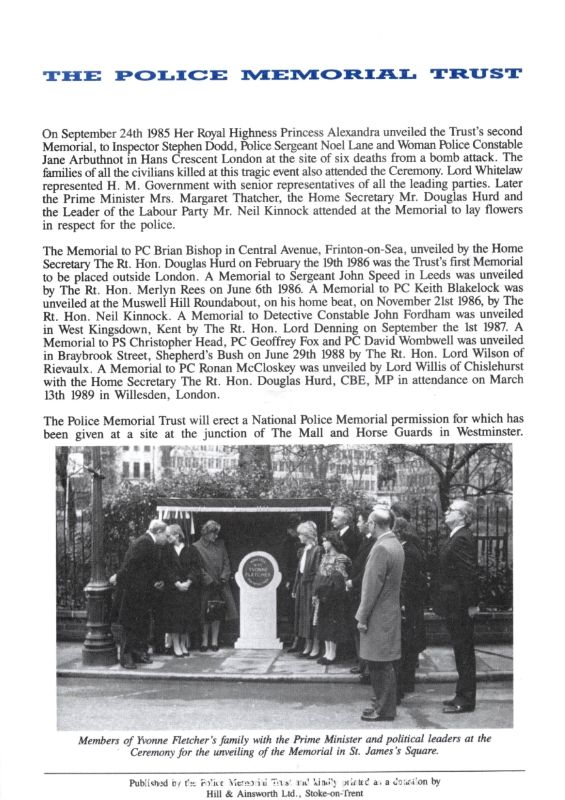 PC John Taylor Memorial Programme 4