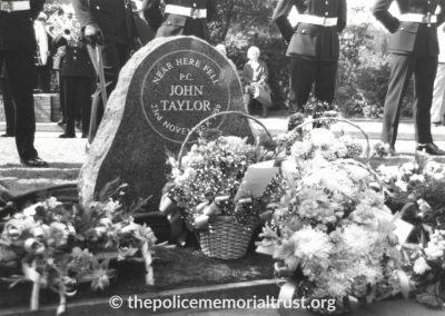 PC John Taylor Unveiling Photos 4
