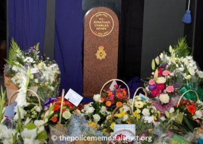 PC Jonathan Henry Memorial 1