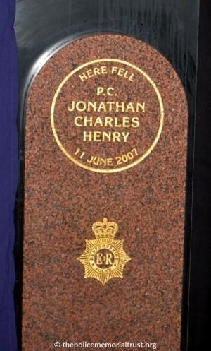 PC Jonathan Henry Memorial 2