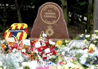 PC Joseph Carroll Memorial