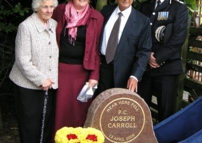 PC Joseph Carroll Unveiling Photos 2