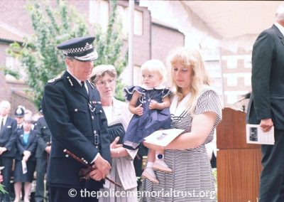PC Laurence Brown Unveiling Photos 5