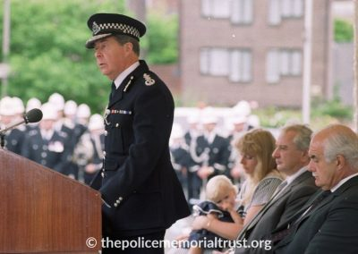 PC Laurence Brown Unveiling Photos 6