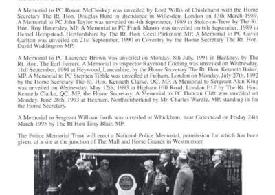 PC Patrick Dunne Memorial Programme 4