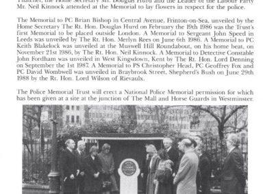 PC Ronan McCloskey Memorial Programme 2