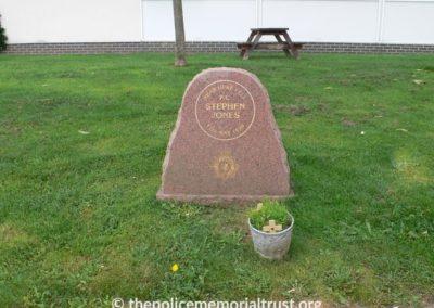 PC Stephen Jones Memorial 1