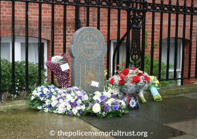 PC Stephen Tibble QPM Memorial 1