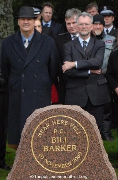 PC William Barker Unveiling Photos 2