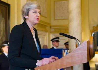 PM Teresa May Keith Palmer GM Memorial