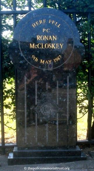 Ronan McCloskey Memorial Stone 1