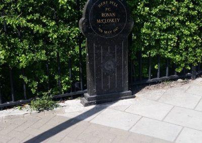 Ronan McCloskey Memorial Stone 2