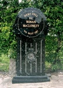 Ronan McCloskey Memorial Stone 3