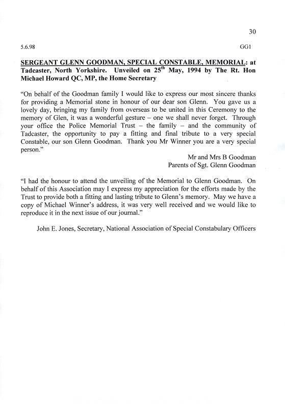 SC Glenn Goodman Letter