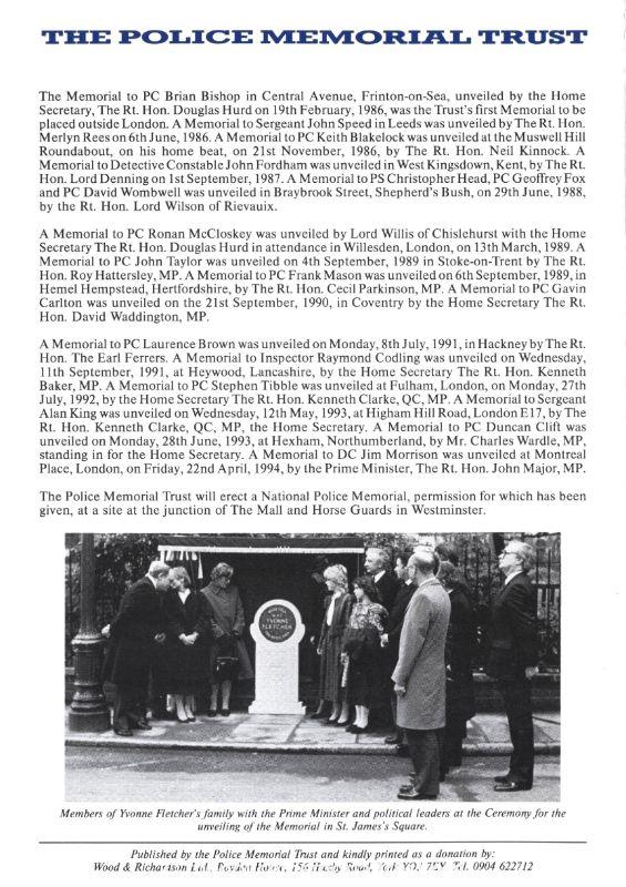 SC Glenn Goodman Memorial Programme 4