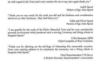 Sergeant John Speed Letter 1