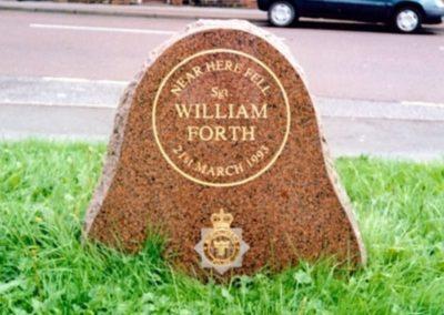 Sergeant William Forth Memorial 1