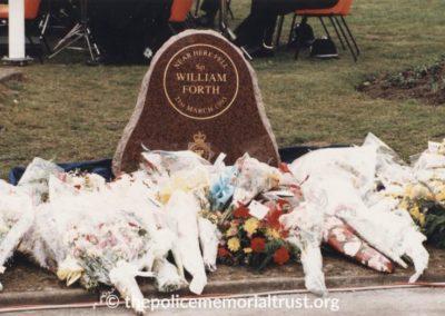 Sergeant William Forth Memorial 2