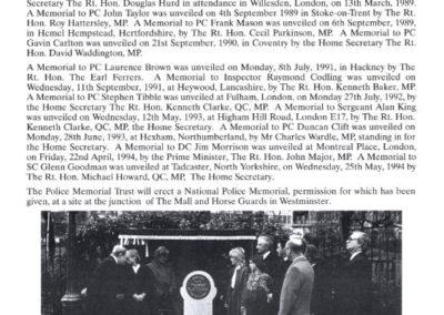 Sergeant William Forth Memorial Programme 4