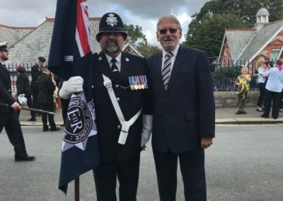 Standard Bearer for the Ministry of Defence Police