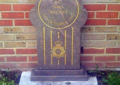 WPC Nina Mackay Memorial 2