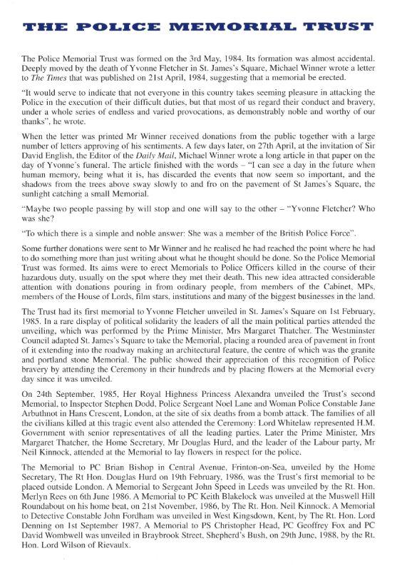 WPC Nina Mackay Memorial Programme 3