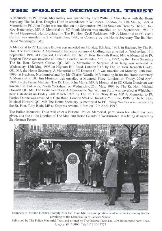 WPC Nina Mackay Memorial Programme 4