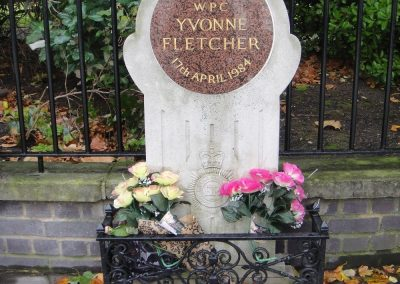 WPC Yvonne Fletcher Memorial Plaque 1