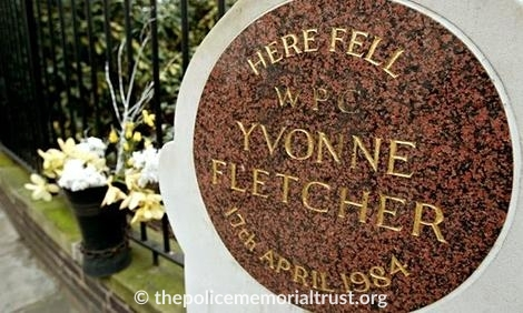 WPC Yvonne Fletcher Memorial Plaque 2