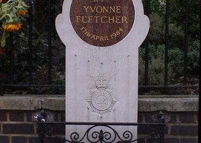 WPC Yvonne Fletcher Memorial Plaque 5