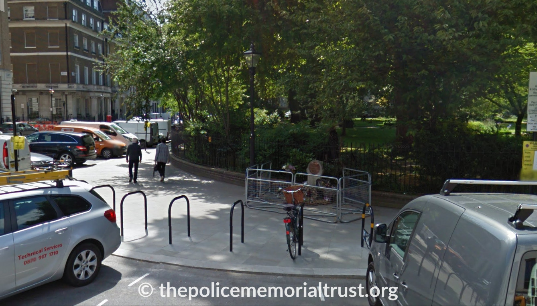 WPC Yvonne Fletcher Memorial Street View