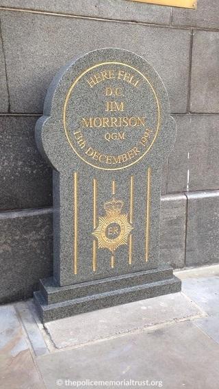 DC Jim Morrison QGM Refurbished Memorial