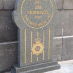 DC Jim Morrison QGM Memorial Stone