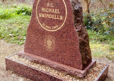 DC Michael Swindells Memorial Stone