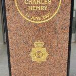PC Jonathan Charles Henry Memorial Stone