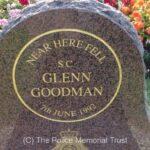 SC Glenn Goodman Memorial Stone